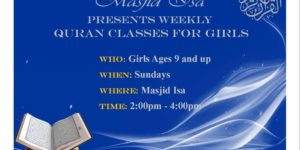 Holy Quran Classes