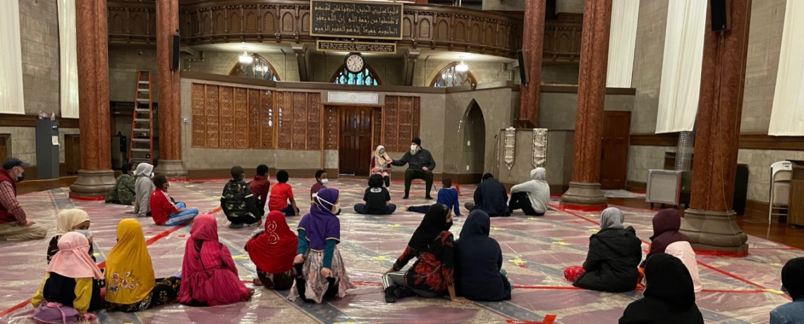 Students Taking Turns Reading Islamic Stories